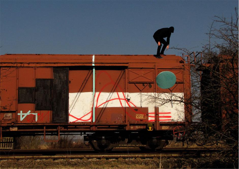 vlak značka