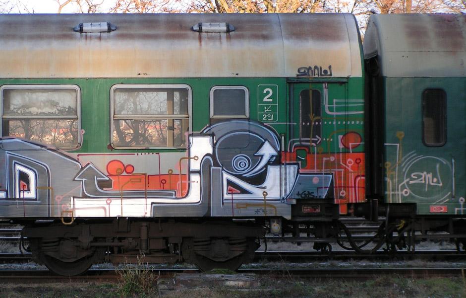 vlak detail